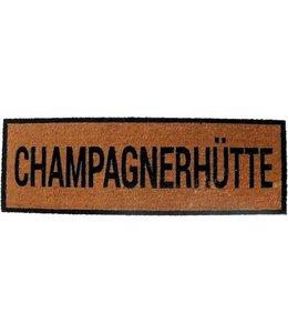 """Fußmatte """"Champagnerhütte"""""""