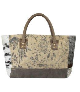 """Handtaschen Vintage Handtasche Landhausstil """"Rose"""" Leder"""