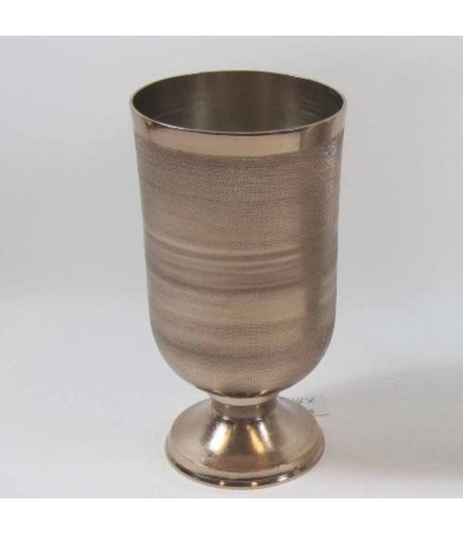 Vase Kupferfarben gebürstet