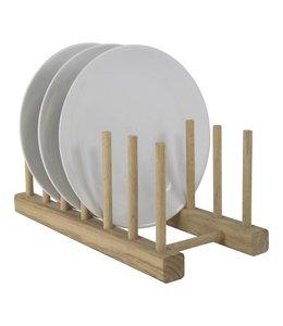 Tellerhalter Holz