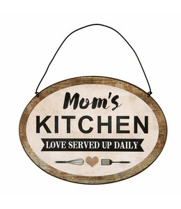 Clayre & Eef  Dekoschild Moms Kitchen