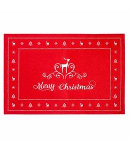 """Tischset Landhaus """"Merry Christmas"""""""