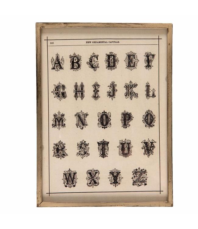 Bild Buchstaben 26x35