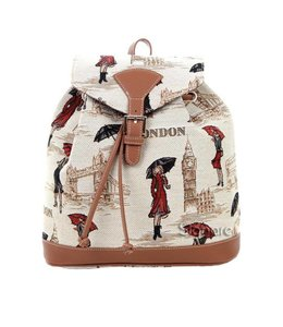 "Gobelin Rucksack ""Miss London"""