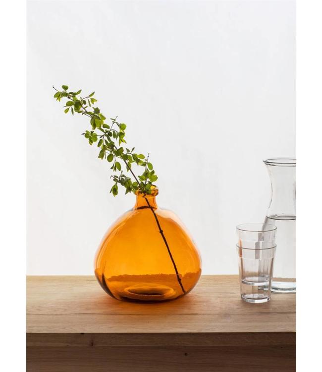 Blumenvase orange