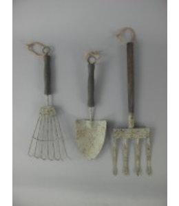 Deko-Gartenwerkzeug-Set Antik