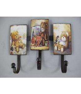 Wandhaken Teddybären