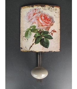 Wandhaken Englische Rosen ☆ Nostalgisch