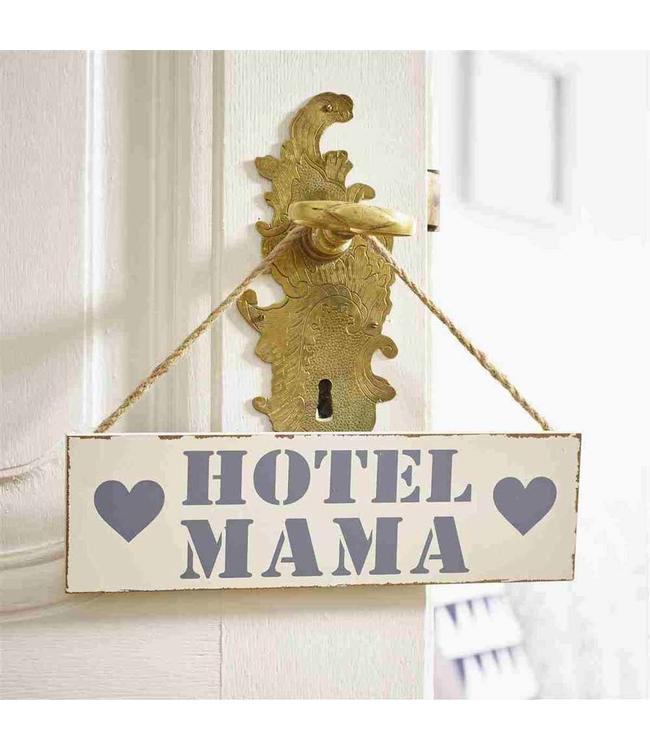 Dekoschild Hotel Mama