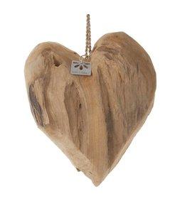 Aufhänger Herz - Holz