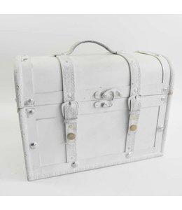 """Deko-Koffer """"Altweiß"""" Vintage"""