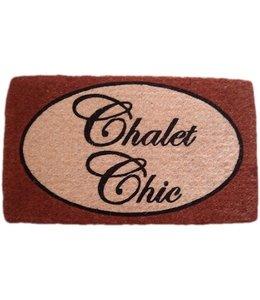 Fußmatten Vintage Türmatte Chalet Chic