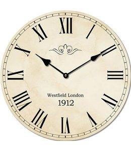 "Wanduhr Vintage ""Westfield London 1912"""