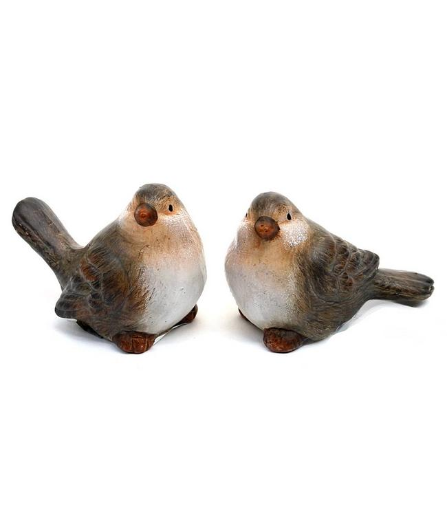 Vogelpärchen Keramik
