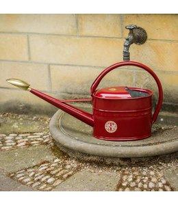 Haws Watering Cans Gießkanne Slimcan 5 Liter, Burgundy