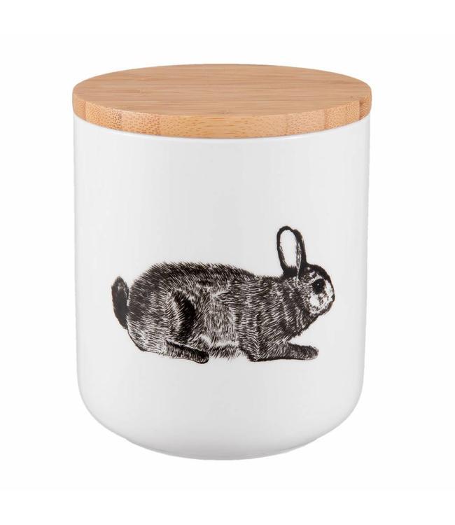 Vorratsdose Keramik Hase