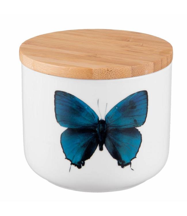 """Vorratsdose Landhaus """"Schmetterling"""" Keramik"""