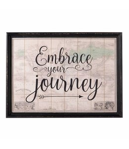 "Wandbild Landhaus ""Embrace your journey"""