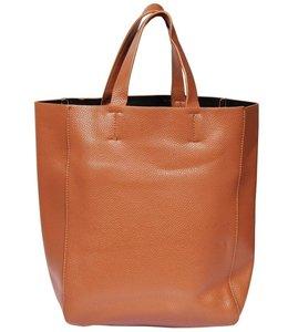 Shopper Vintage Damenhandtasche braun