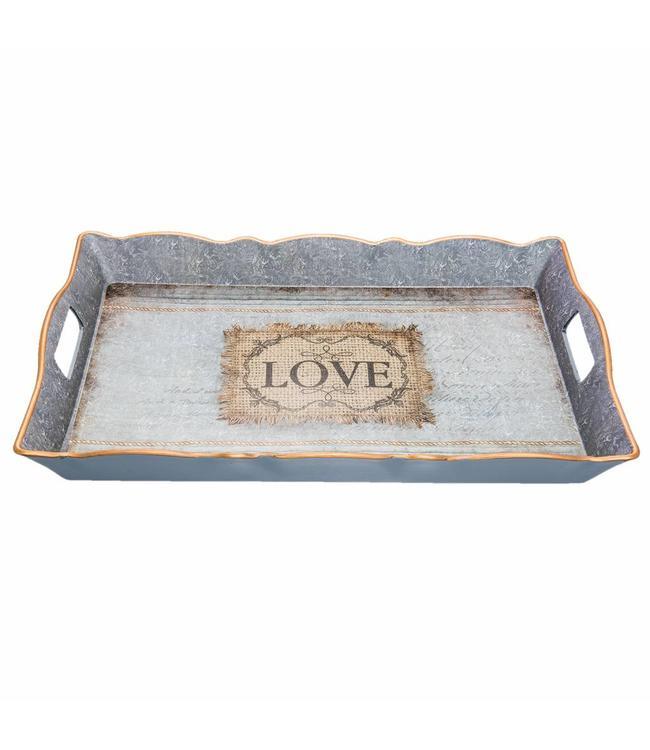 """Tablett """"Love"""" Vintage"""