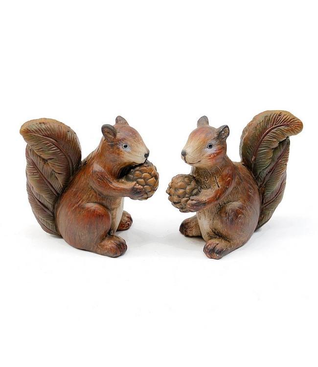 Eichhörnchen-Set Keramik