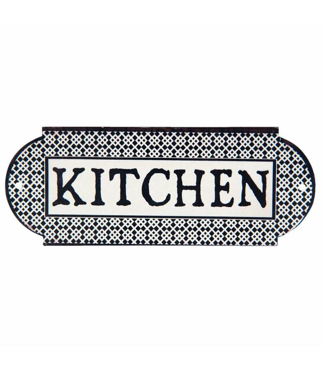 Türschild Kitchen - Landhausstil