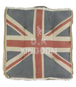 """Gartenstuhlauflage """"Union Jack"""" 40x40"""