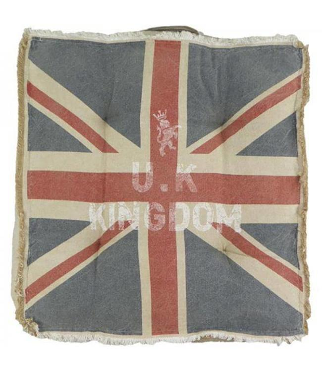 "Stuhlkissen ""Union Jack"" 40x40 Vintage"