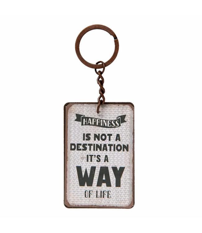 Schlüsselanhänger Happiness