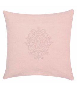 Clayre & Eef  Kissenhülle rosa 40x40