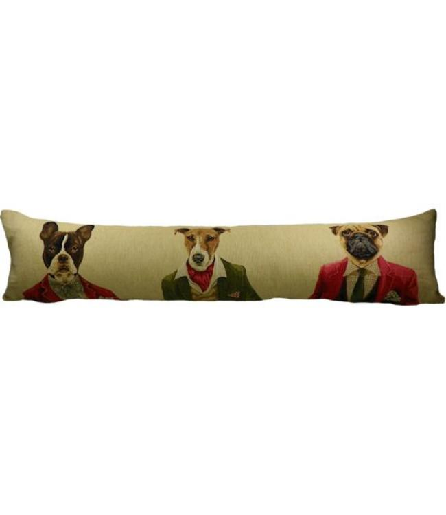 "Zugluftstopper ""Hunde im Blazer"""