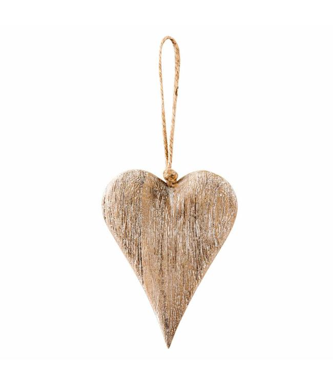 Holz-Anhänger Herz