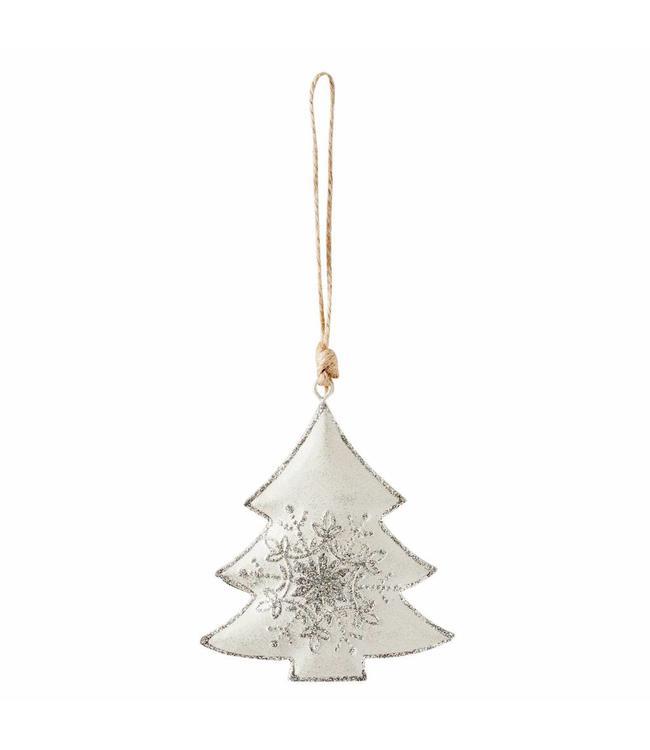Weihnachtsbaumanhänger Tanne - 6er Set