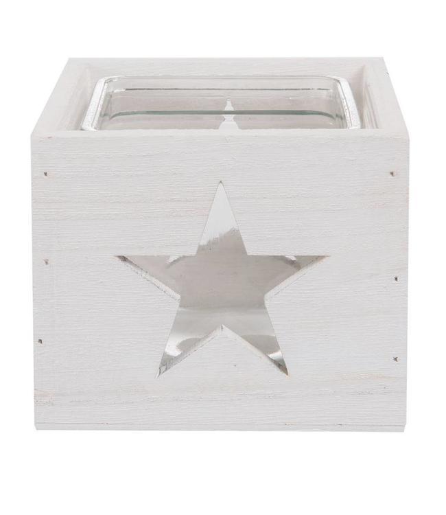 Teelichthalter Stern - 2er Set