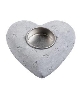 Teelichthalter Herz - 2er Set
