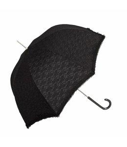 Clayre & Eef Regenschirm schwarz