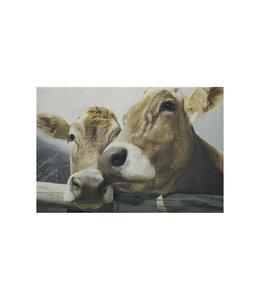 """Tischset Landhausstil """"Kühe"""""""