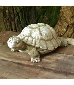 "Steinfigur ""Schildkröte"" Antik-Patina"