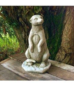 Steinfigur Erdmännchen stehend