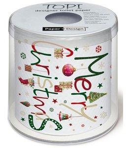 """Paper+Design Toilettenpapier """"Merry Christmas"""""""