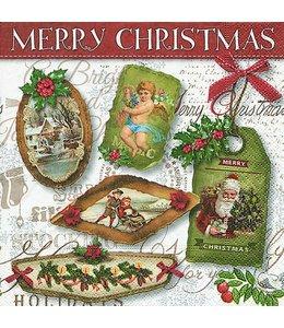 """Servietten """"Weihnachtsanhänger"""""""