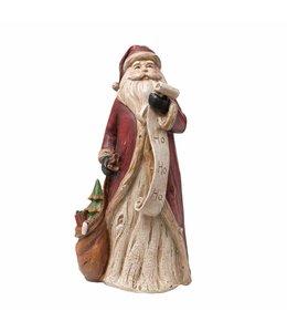 Weihnachtsmann mit Wunschliste