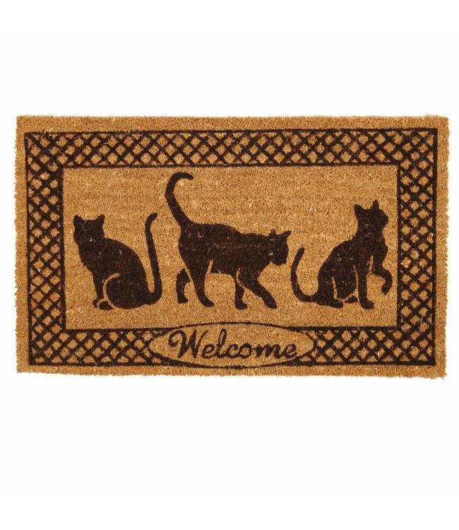 Türmatte Katzen