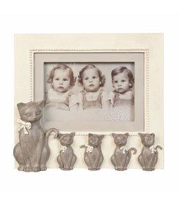 """Bilderrahmen Vintage Bilderrahmen """"Katzen"""" 15x10"""