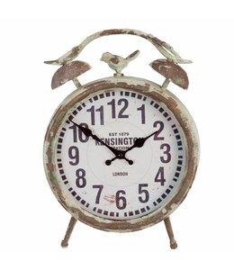 Uhr mit Spatz