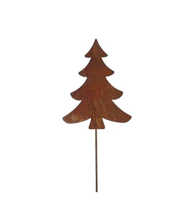 Rostiger Tannenbaum.Gartenstecker Rost Tannenbaum 120 Cm