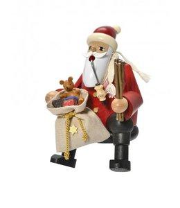Räuchermann Weihnachtsmann Kantenhocker