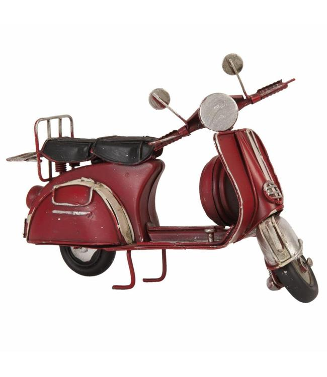 Modell Motorroller rot