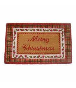 """Clayre & Eef  Türmatte Landhaus """"Merry Christmas"""""""