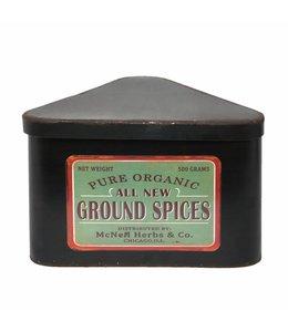 """Clayre & Eef  Gewürzdose Landhaus """"Ground Spices"""""""
